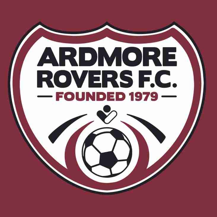 Ardmore Rovers Reveal New Crest Design