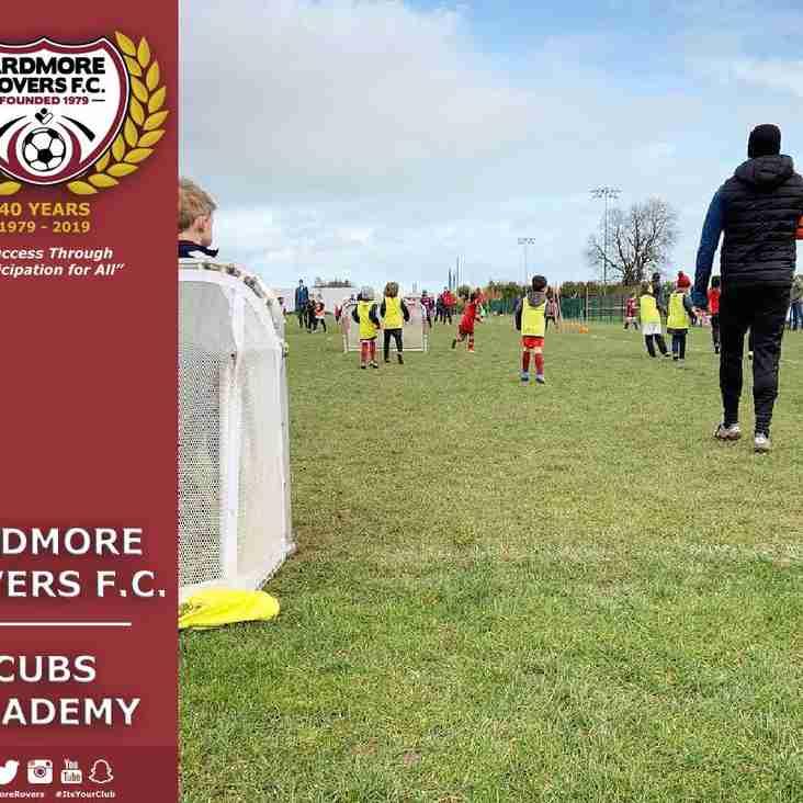 No Cubs Academy this Saturday, May 4th