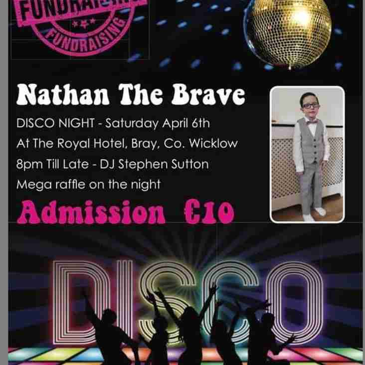 Disco in Aid of Nathan The Brave