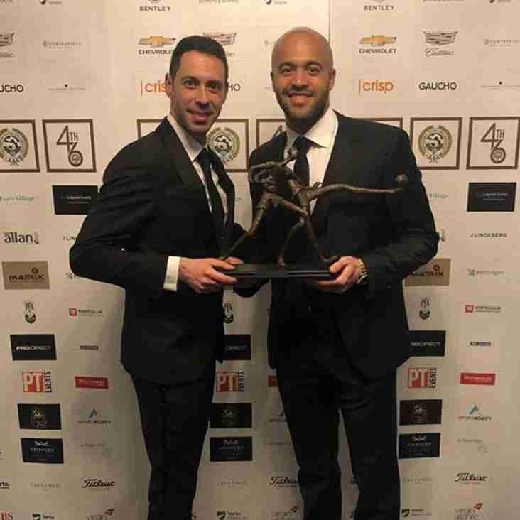 Ardmore Rovers Hero, Darren Randolph, Doesn't Only Keep Clean Sheets, He Picks Up Awards