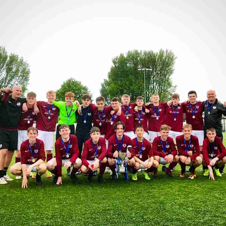 Ardmore Rovers Youth 4 are Skelly Cup Champions 2019
