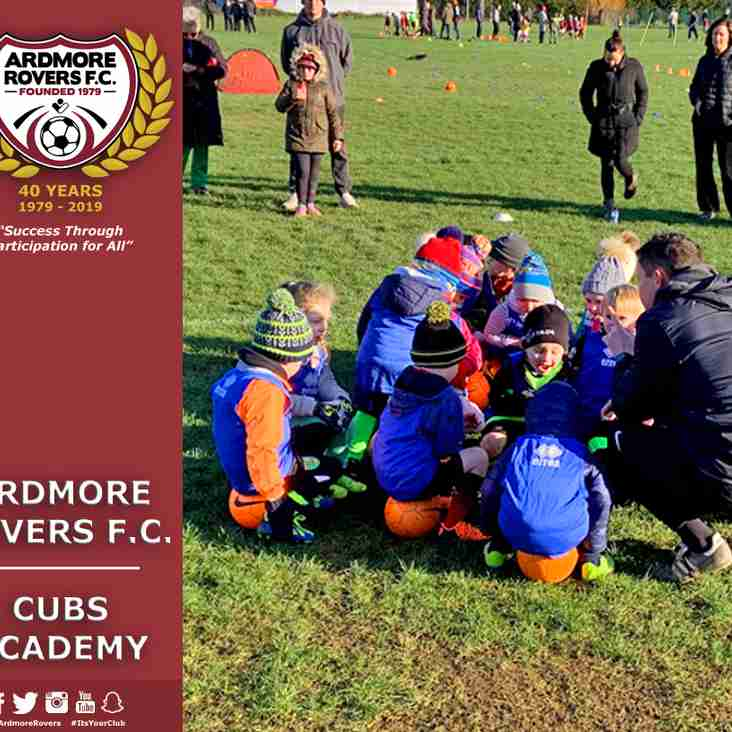 No Cubs Academy this Saturday, June 1st