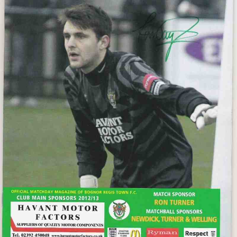 Bognor Regis Town Vs Kingstonian.02/02/2013