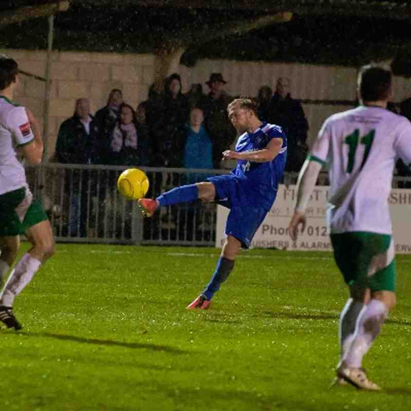 Bognor Regis Town.Vs.Lowestoft Town.14/01/2014