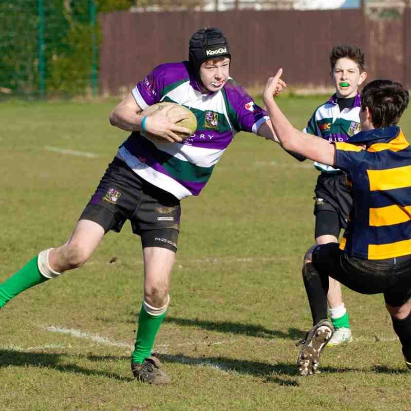 Bognor Bulls.Vs.Eastbourne RFC Under 14s.08/02/2015