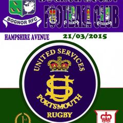 Bognor RFC Vs US Portsmouth 21/03/2015