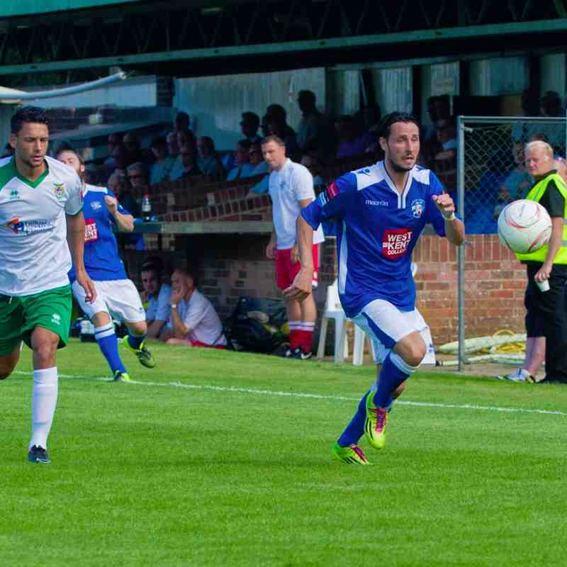 Bognor Regis Town.Vs.Tonbridge Angels.22nd August 2015