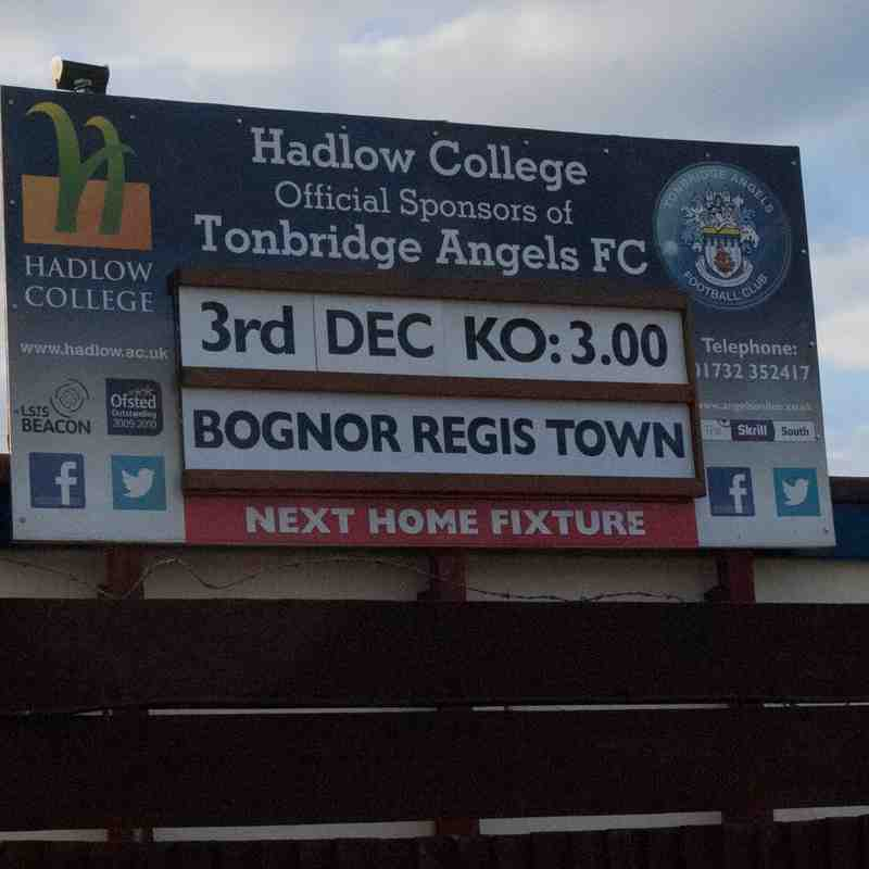 Tonbridge Angels Vs Bognor Regis Town.03/12/2016