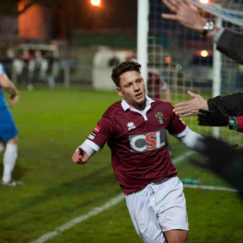 Shoreham Vs Bognor Regis Town.Sussex Senior Cup.
