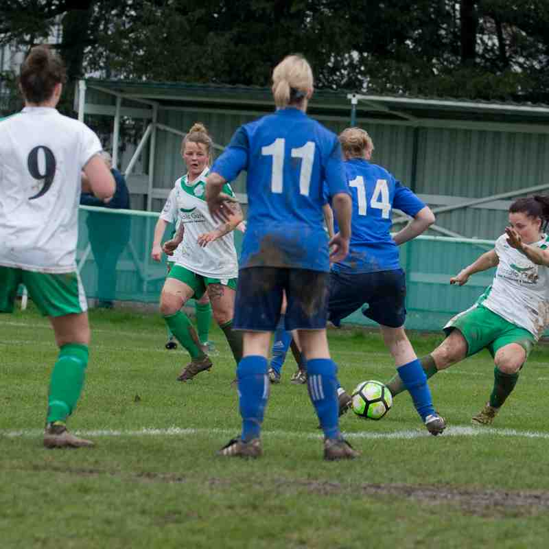 Chichester City Ladies.Vs.Larkhall Athletic.12/03/2017 Part 2