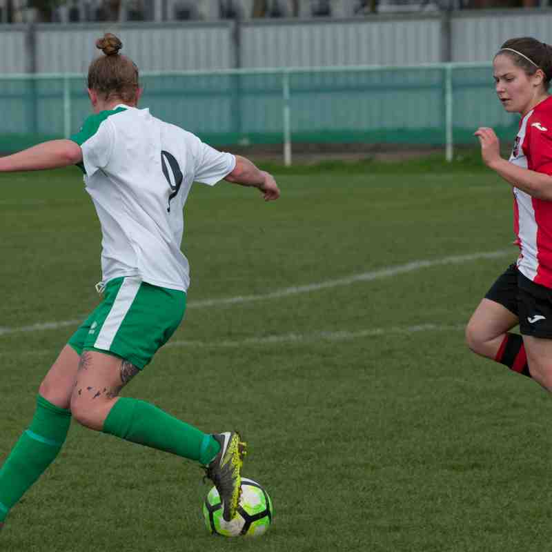 Chichester City Ladies.Vs.Exeter City Ladies.19/03/2017 First Half