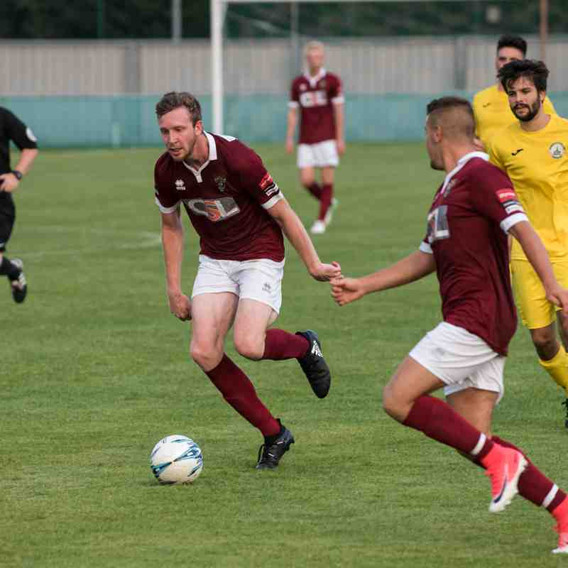 Chichester City Vs Bognor Regis Town.19th July 2017.Second Half