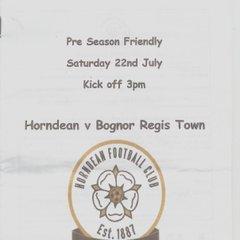 Pre Season Friendly Horndean Vs Bognor Regis Town First Half