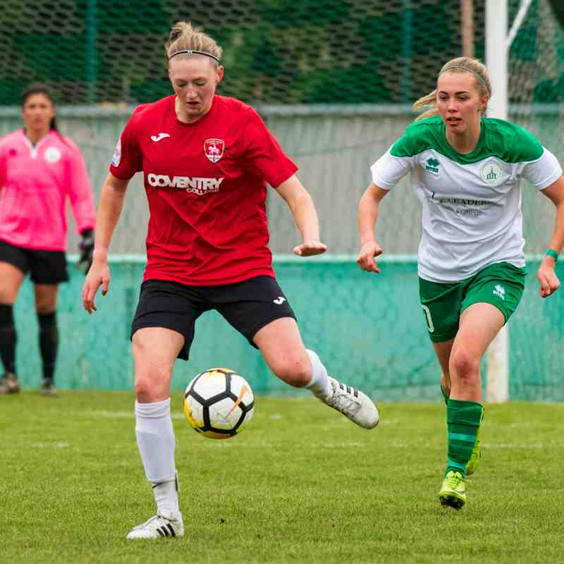 Chichester City Ladies Vs Coventry United Ladies 29/04/2018