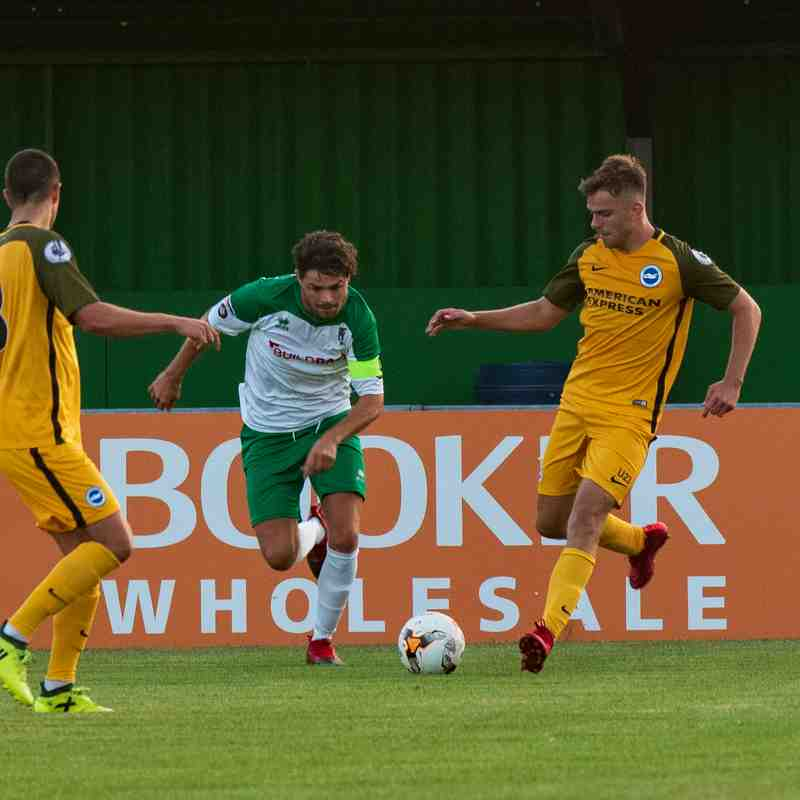 17/07/2018 Pre Season Friendly Bognor Regis Town (2) Brighton & Hove Albion U23s (1)