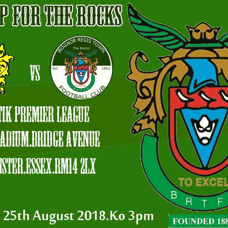 Bognor Regis Town Vs Bishops Stortford 18/08/2018
