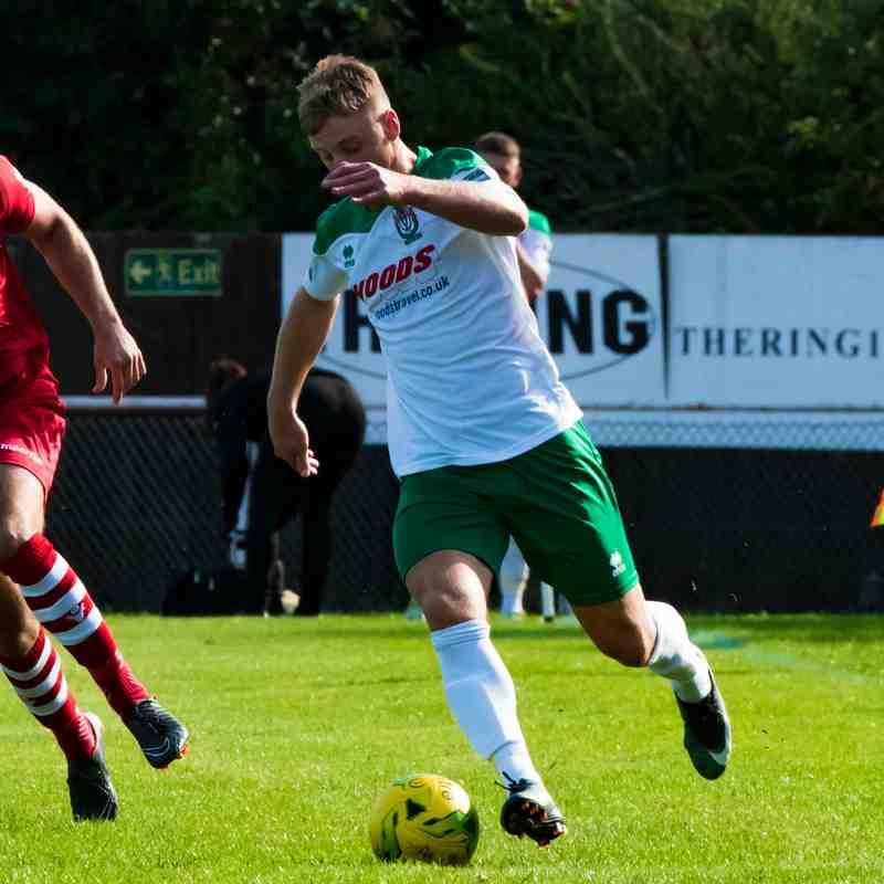 AFC Hornchurch Vs Bognor Regis Town Bostik Premier