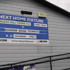 Burgess Hill Town Vs Bognor Regis Town.12/01/2019