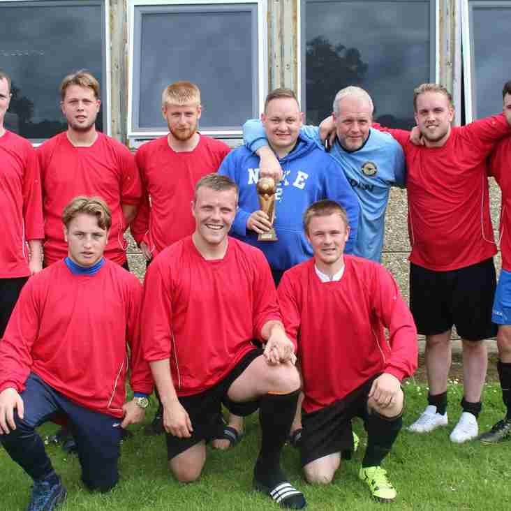 Folly Hill FC Winners - CBFC 2016 6 a Side Tournament!
