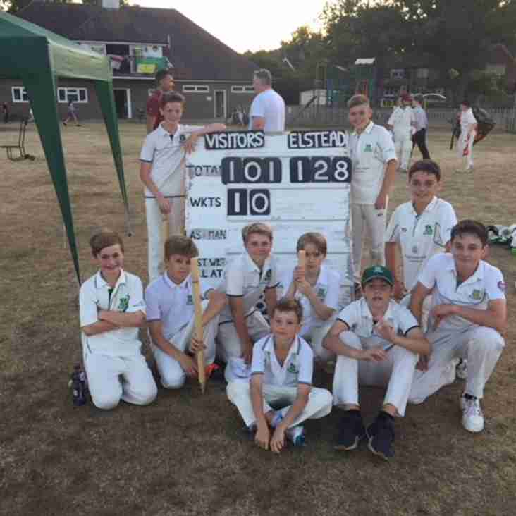 U13s Break Brook
