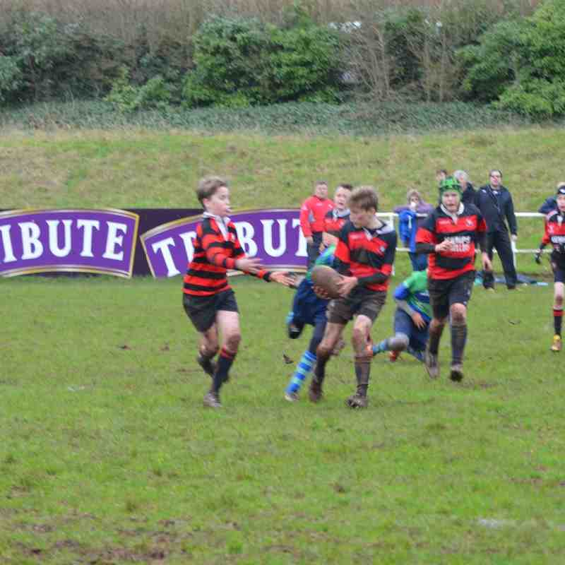 Under 13s Gordano v Bernadettes