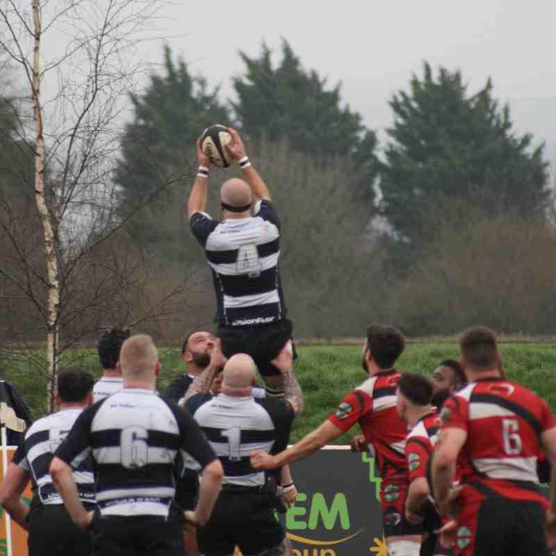 18/03/17 - Chipping Sodbury 1st XV - 41 v Barts Rugby 1st XV - 19