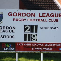 08/04/17 - Gordon League 1st XV - 21 v Chipping Sodbury 1st XV - 19