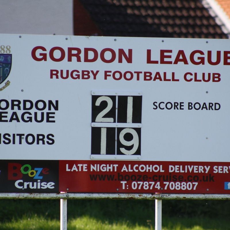 08/04/17 - Gordon League 1st XV - 21 v Chipping Sodbury 1st XV - 19