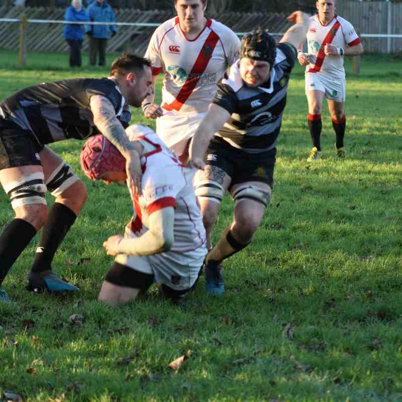 25/11/17 - Gordon League 1st XV - 26 v Chipping Sodbury 1st XV - 31