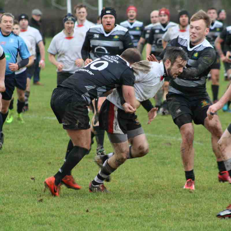 06/01/18 - Chipping Sodbury 2nd XV - 17 v Cotham Park 2nd XV - 22