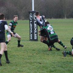 13/01/18 - Chipping Sodbury 1st XV - 50 v St Mary's old Boys 1st XV - 20