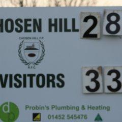 17/11/18 - Chosen Hill 1st XV - 28 v Chipping Sodbury 1st XV - 33