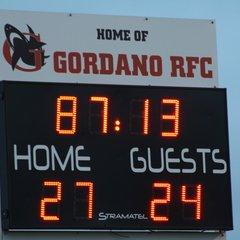 01/12/18 - Gordano 1st XV- 27 v Chipping Sodbury 1st XV - 24