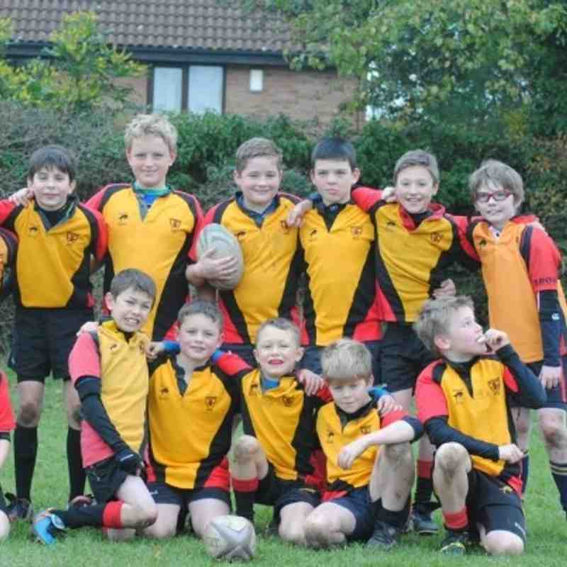 U10's at Glos Cup Dec 2013 (photos by Sandy Harper)