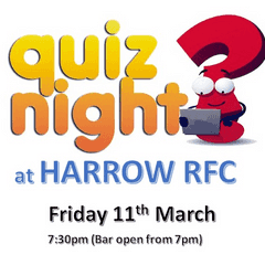 Club Quiz and Curry Night