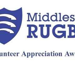 Club has 2 nominations in Middlesex Rugby Volunteer Awwards