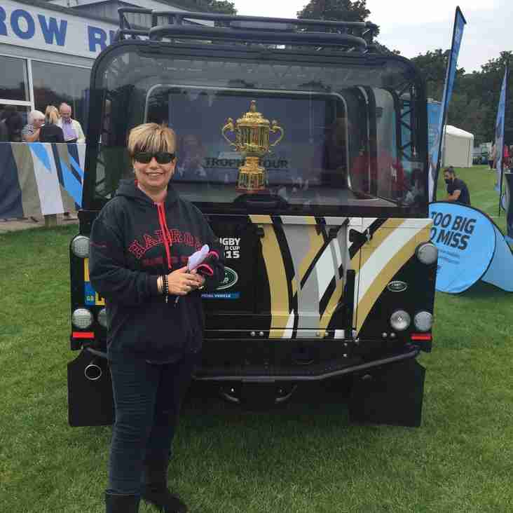 Harrow RFC's Karen Stirrup wins Overall Individual Volunteer Award