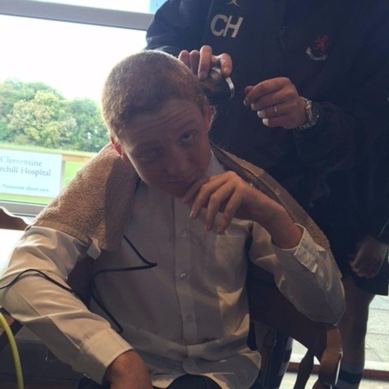 Santos haircut