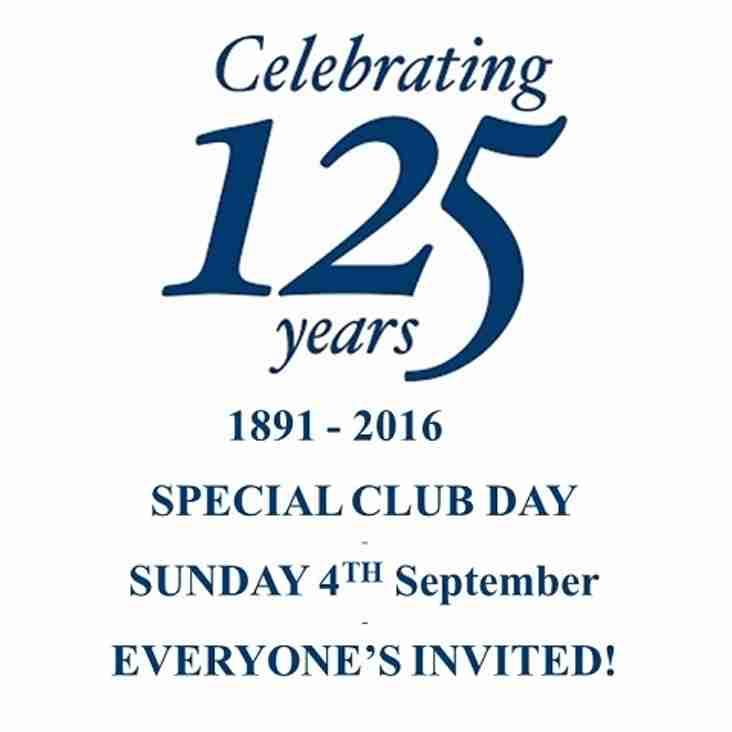 Welcome to the 125th season at Harrow RFC!