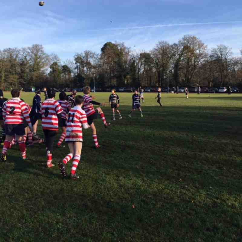 Harrow U14 v Finchley 11 Dec 2016