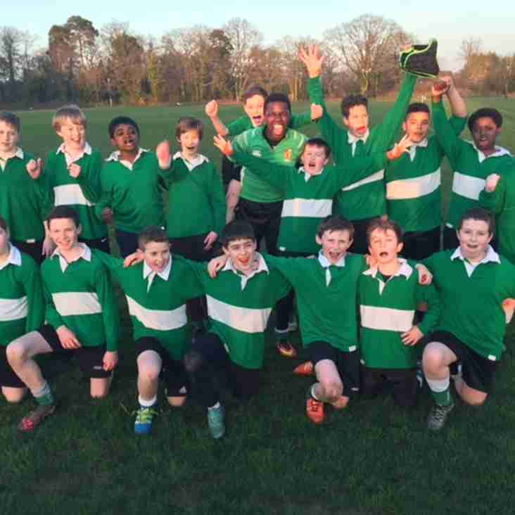The club's Explore Rugby programme with local school comes to a successful end