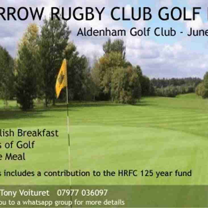 Harrow RFC Golf Day at Aldenham Golf Club. Friday 23rd June