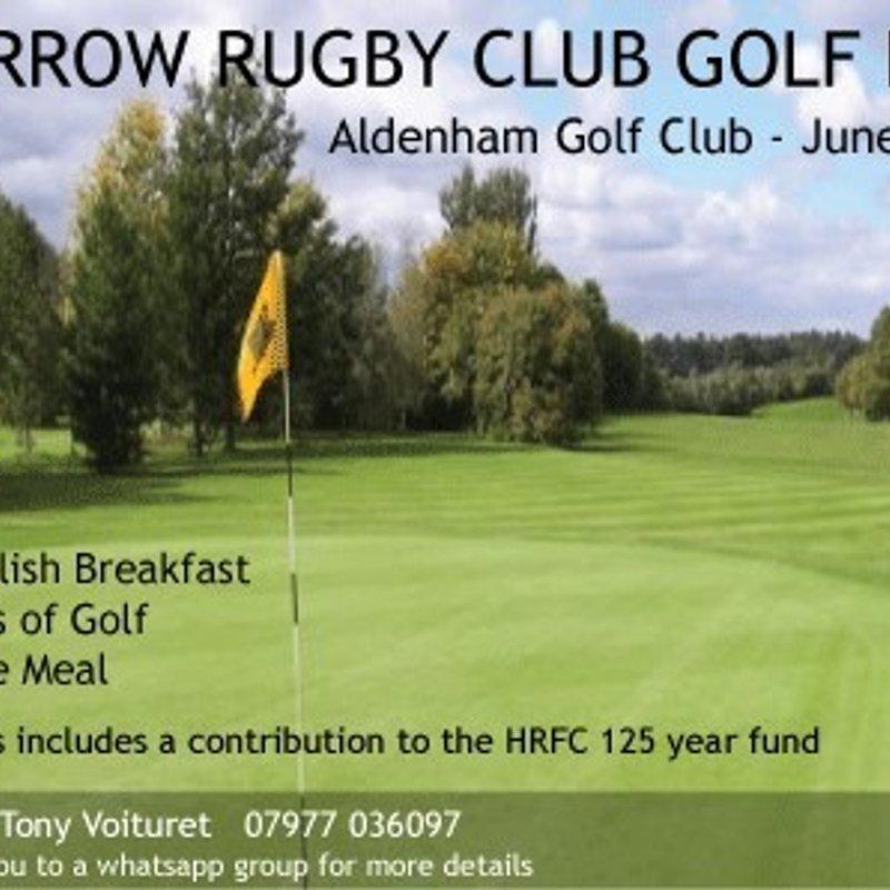 Harrow RFC Golf Day at Aldenham Golf Club. Friday 23rd June