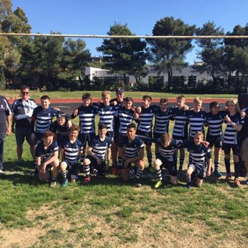 Harrow U14 tour to Italy makes new friends for club!