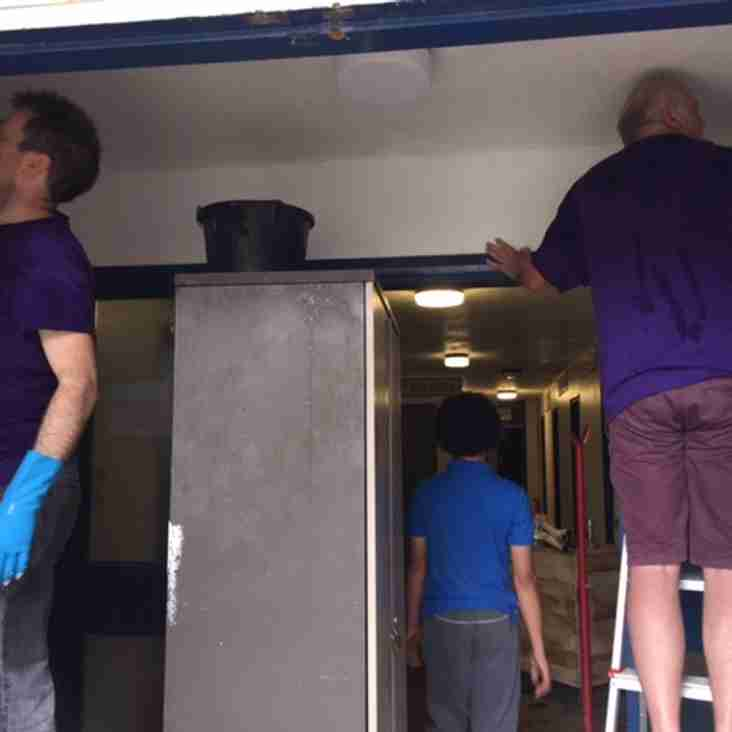 Club gets makeover on the NatWest RugbyForce day!