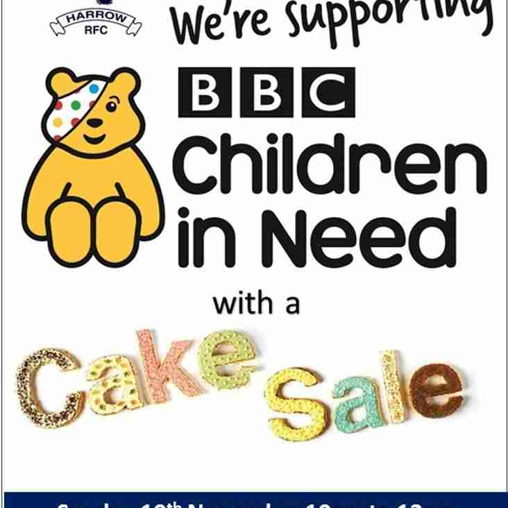 Cake Sale raises money for Children in Need