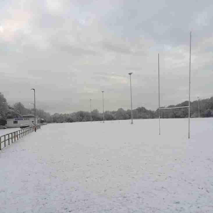 Sunday 18th March  - rugby is cancelled due to weather