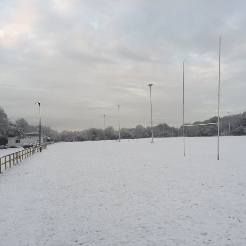 Junior Section matches and training cancelled for Sunday 10th December
