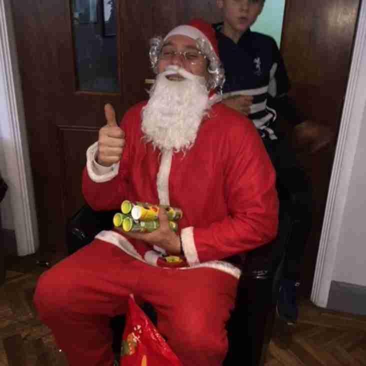 Santa comes to Harrow RFC!
