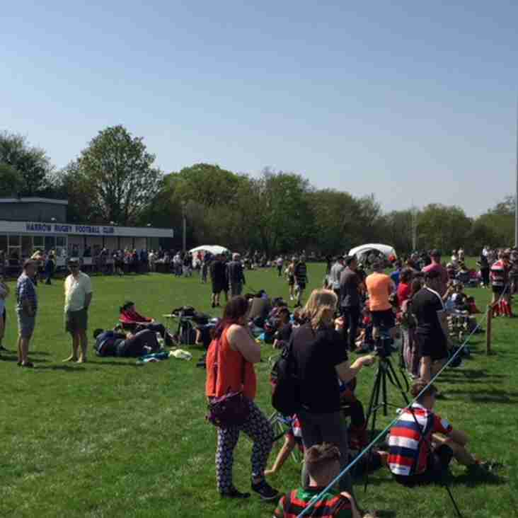 Harrow 10s Festival - a brilliant day of youth rugby at Harrow RFC!